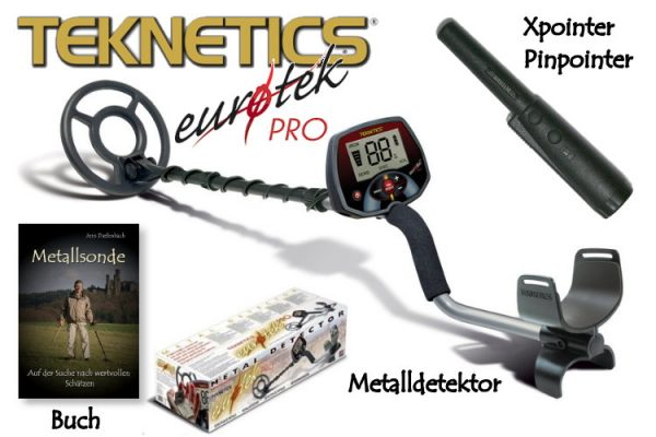 Teknetics Eurotek PRO Ausrüstungspaket