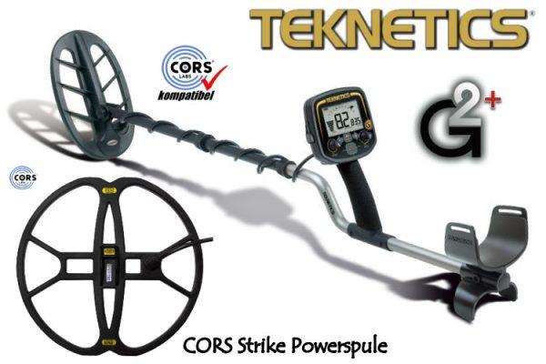 Teknetics G2plus Metalldetektor Tiefenortungspaket