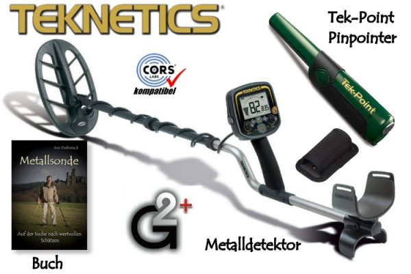 Gold Metalldetektor Teknetics G2+