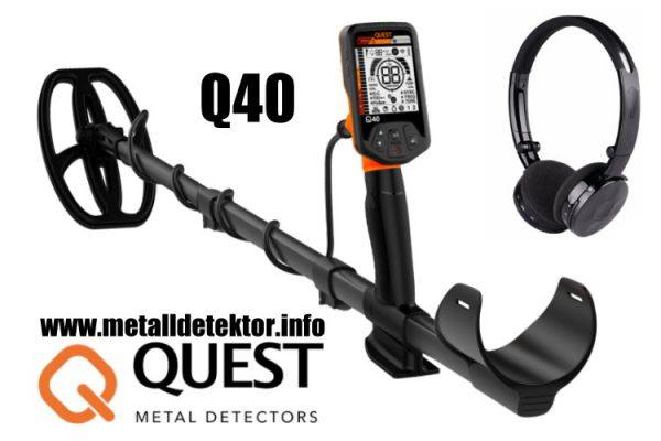 Metalldetektor Quest Q40